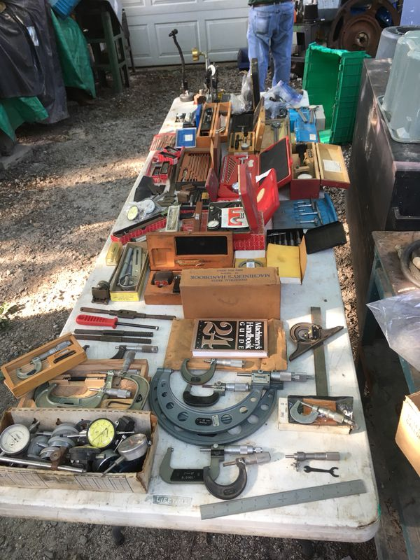 Machinist Tools For Sale >> Machinist Tools Starrett Brown Sharpe And More For Sale In Yorktown Va Offerup