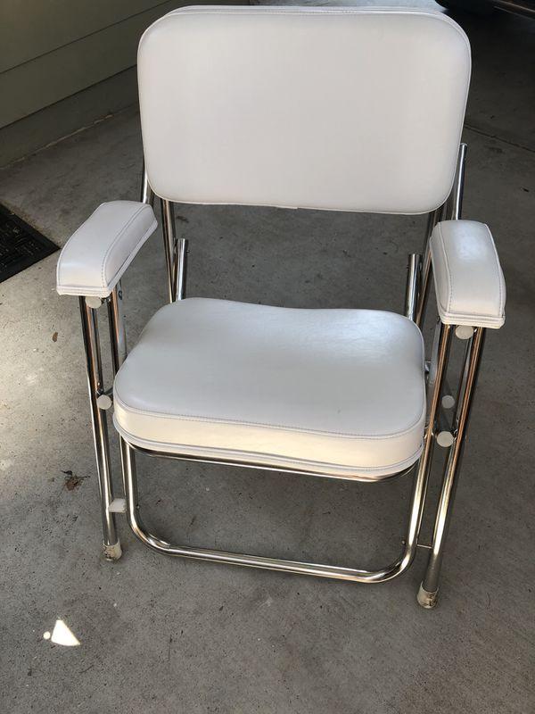 Kingfish Ii Aluminum Folding Deck Chairs 3