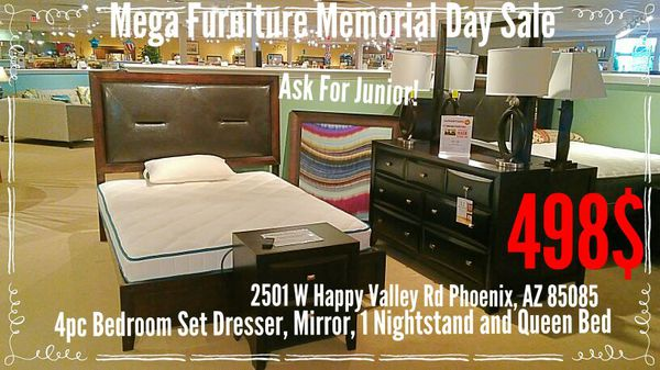 Mega Furniture Happy Valley Rd Memorial Day Sale For Sale In Phoenix
