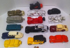 Vintage Lot of 14 Glass Cars, Antique Cars for Sale in Lakeside, CA