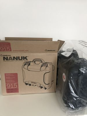 Nanuk Drone Waterproof Hard Case with Custom Foam Insert for DJI Mavic Air Fly More Combo for Sale in Ashburn, VA
