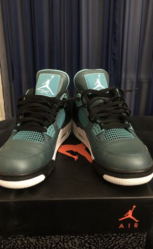 "9799c8b82b3ebb Air Jordan 4 Retro ""Teal"" 4s for Sale in Providence"