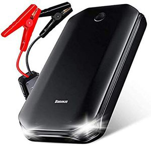 Photo 800A Peak Car Jump Starter (Up to 4L Gas or 2.5L Diesel Engine), 12V Portable Power Pack Automotive Battery Booster Phone Charger with USB Port