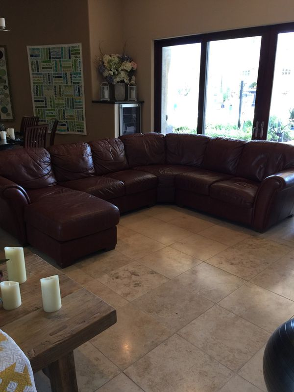 Genuine Leather Sectional Sofa For Sale In Tucson Az Offerup