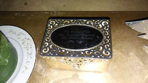 Ring jewelry box engraved my loving past my beautiful present my forever future my wife cost me $150 for Sale in Cleveland, OH