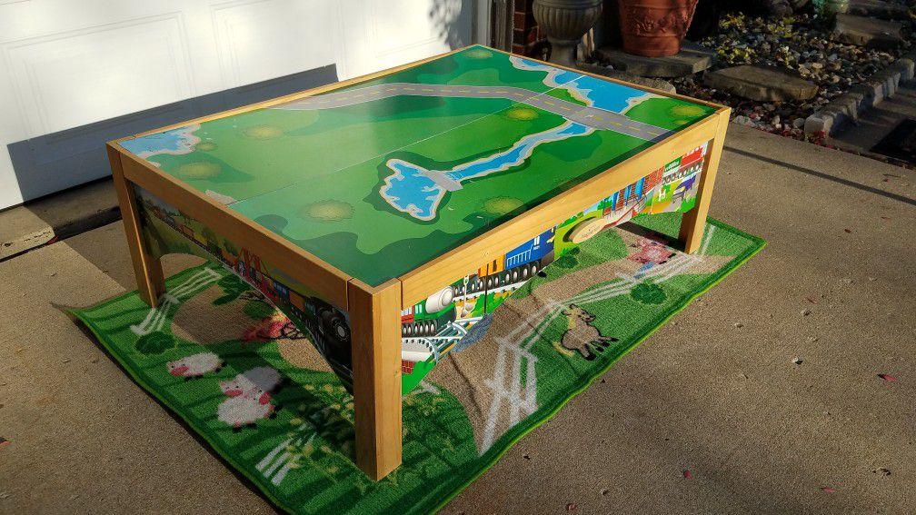 KIDS KRAFT TRAIN TABLE