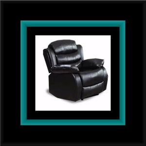 Black recliner chair for Sale in District Heights, MD