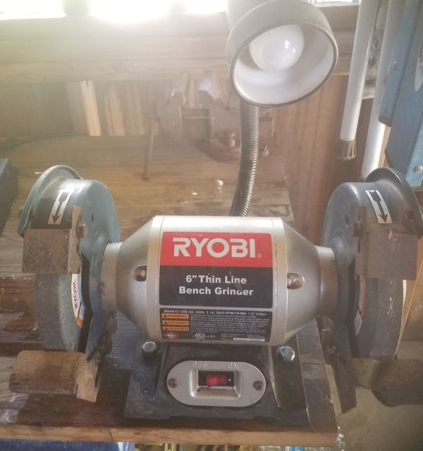 Superb 6 Inch Bench Grinder W Light For Sale In Phoenix Az Offerup Alphanode Cool Chair Designs And Ideas Alphanodeonline