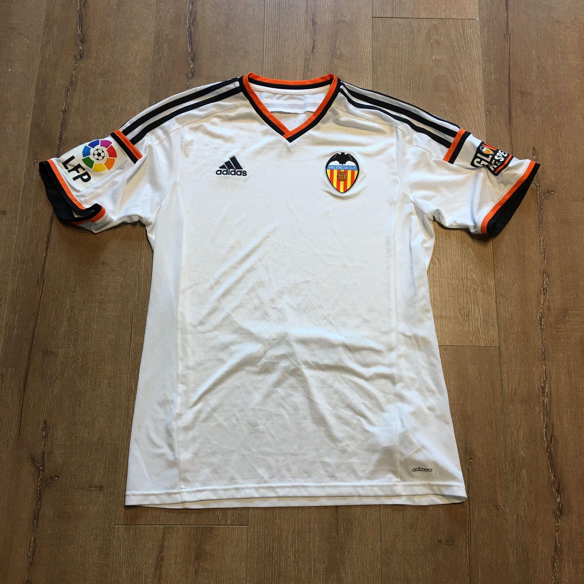 Mens L - Rare Valencia FC Adidas Adizero Soccer Jersey for Sale in ...