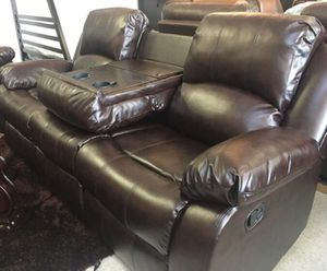 Brand New Brown Recliner Living Room Set for Sale in Pompano Beach, FL
