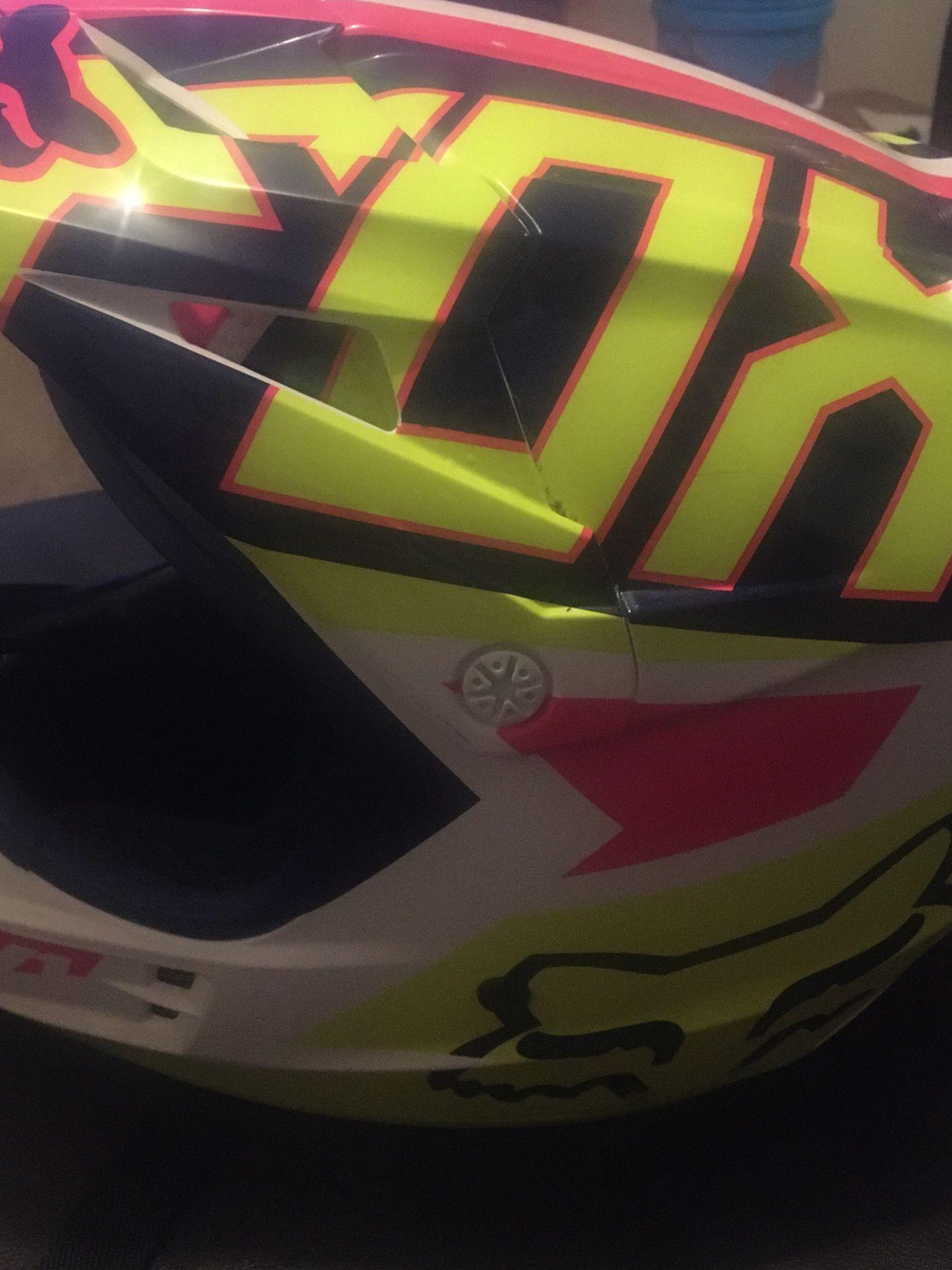 Photo Womens fox Racing Helmet Size Large