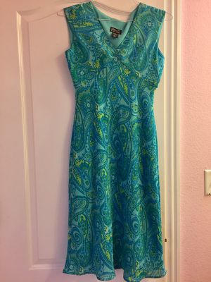 Green floral v-neck sleeveless dress Size 4/6 for sale  Bentonville, AR