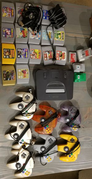 Nintendo 64 Bundle for Sale in Bellevue, WA