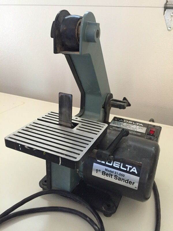 Astonishing Delta 1 Inch Belt Sander 31 050 Belt Image And Picture Gmtry Best Dining Table And Chair Ideas Images Gmtryco