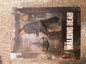 The Walking Dead - Daryl Dixon 10inch Deluxe Action Figure New in Box for Sale in Bristow, VA