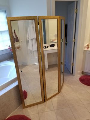 Mirrored room divider for Sale in North Potomac, MD