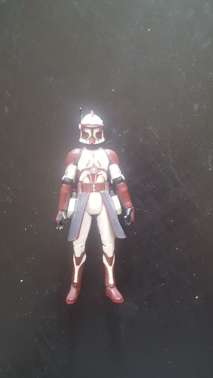 Star wars the clone wars Clone Commander Fox action figure for Sale in Phoenix, AZ