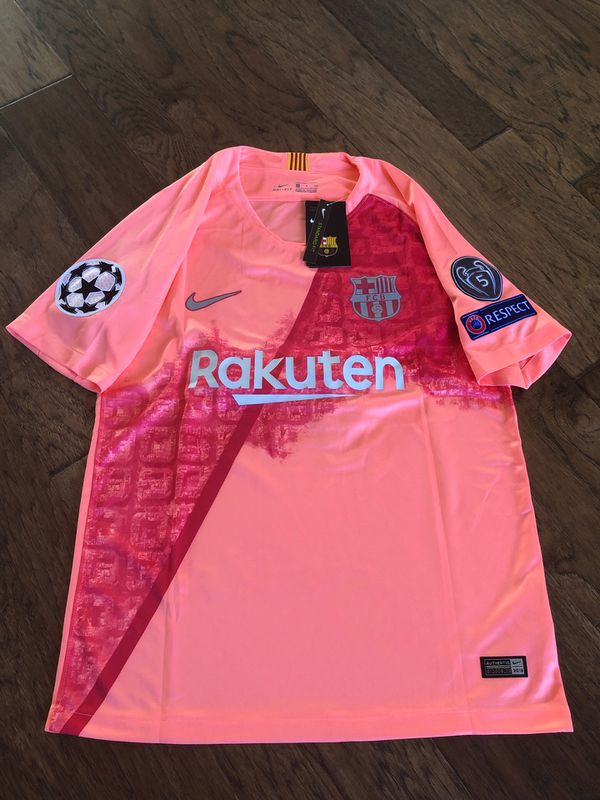 timeless design c5d9e a44e4 Barcelona Messi Third Kit Soccer Jersey 2018-19 size xl for Sale in Frisco,  TX - OfferUp