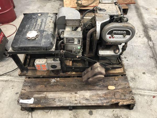 Honda Ev 4000 Rv Generator