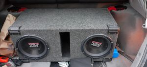 Photo Two MTX subs RF punch amp