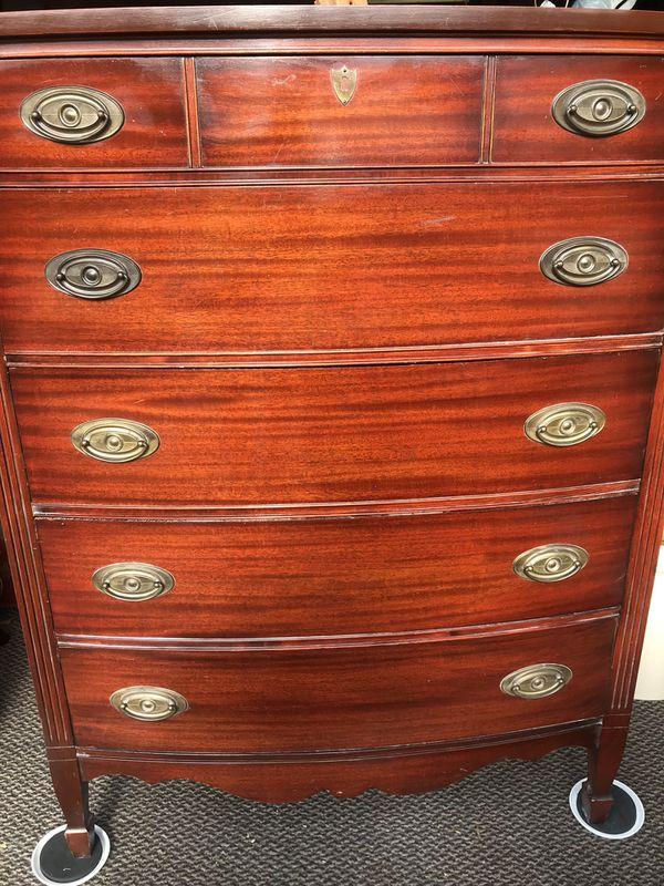Vintage High Boy Dresser For Sale In Emerald Hills Ca Offerup