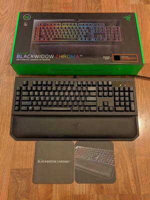 Razer BlackWidow Chroma V2 Mechanical Gaming Keyboard (SILENT/Orange Switch) for Sale in Poway, CA