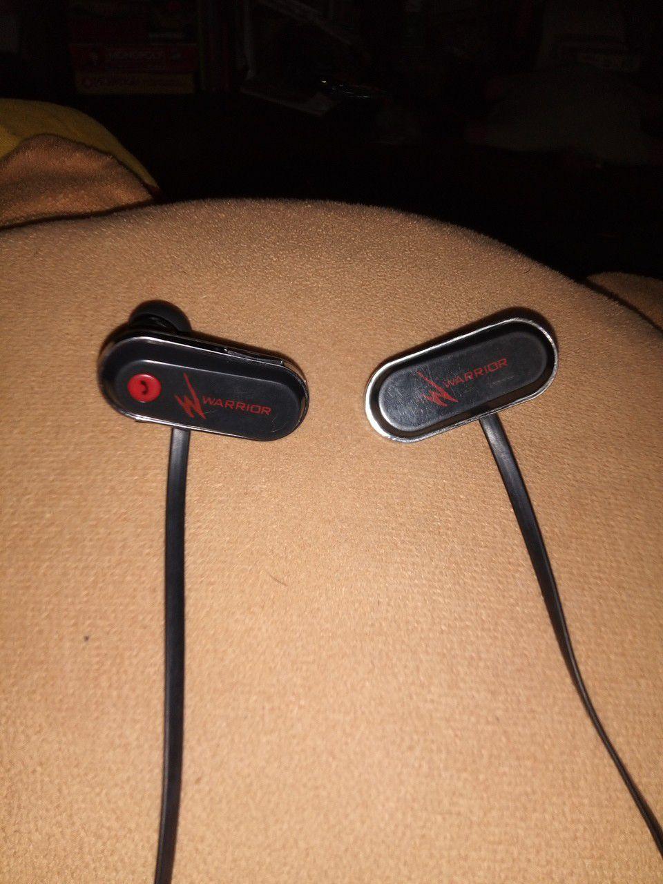 Warrior Bluetooth Earbuds