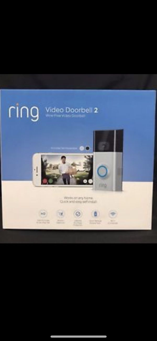 Ring doorbell 2 for Sale in Pacifica, CA - OfferUp