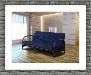 Black Futon Frame With Mattress Free Delivery For In Ashburn Va