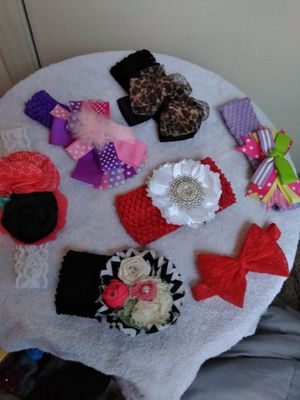 Handmade baby bows for sale  Tulsa, OK