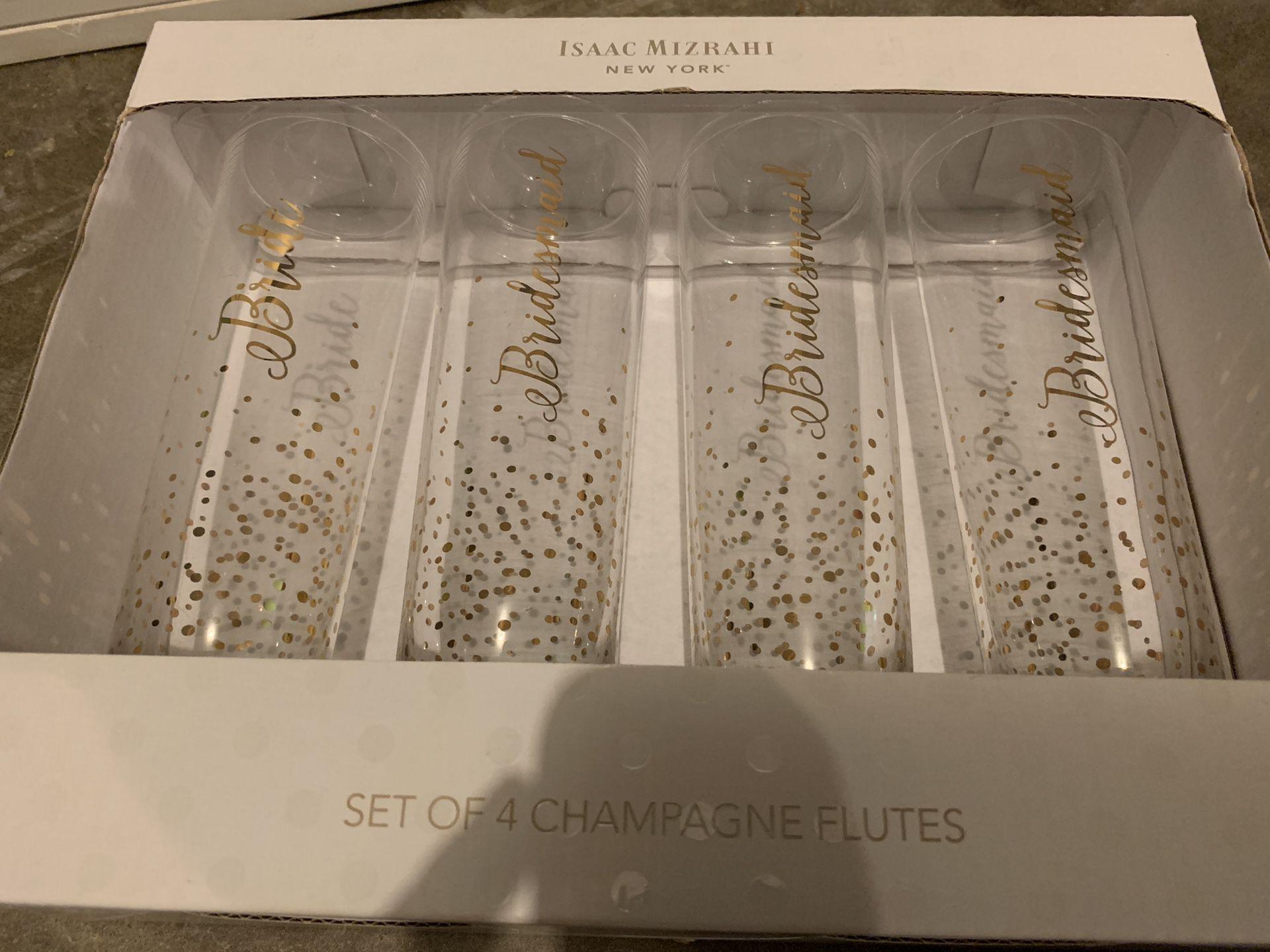 Isaac Mizrahi Champagne Flutes