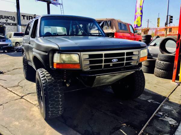 88 Ford Bronco Prerunner 5 8l 15 500 Obo For Sale In Downey Ca