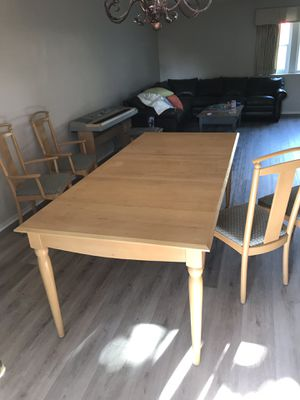 Ethan Allen Dining Table And 4 Chairs For In Monrovia Ca