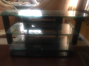 3-Tier Glass TV/Entertainment Table for Sale in Gainesville, VA
