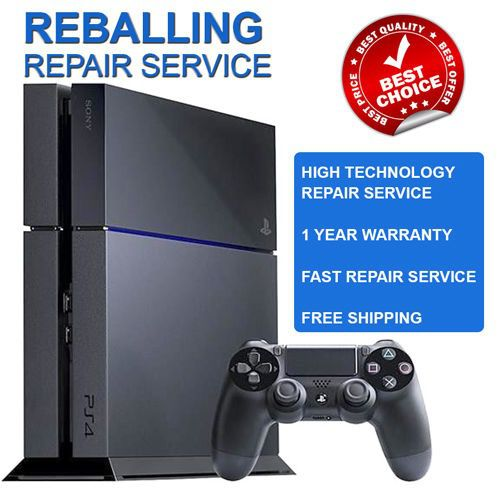 PS4 Playstation 4 Reball Repair Service - 1 Year Warranty