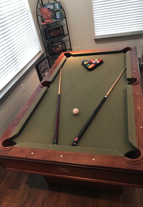 Sportcraft Ft Pool Table With Pool Cues Balls Triangle For - Sportcraft 7ft pool table review