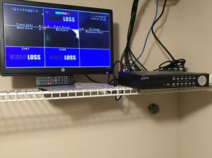 Home Security camera DVR, monitor and remote. Great condition for Sale in Atlanta, GA
