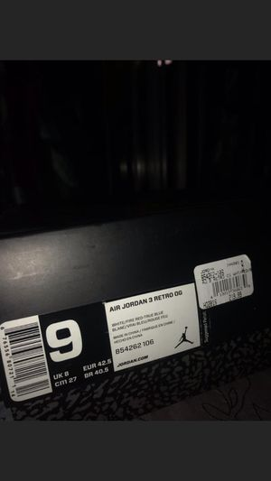 """Air Jordan 3 """"true blue"""" size 10 with box(8/10 condition) for Sale in Berkeley, CA"""