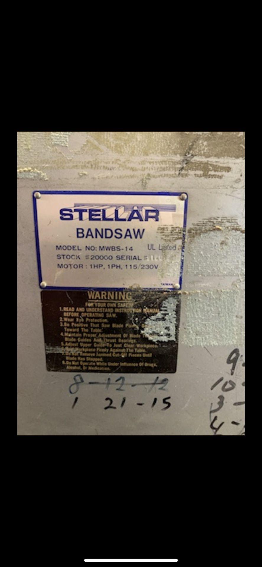 Stellar Band Saw  14 Mw