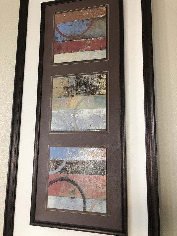 Large Frames two of the same design for Sale in Manteca, CA - OfferUp