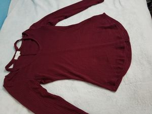 Maroon long-sleeve shirt for Sale in Austin, TX