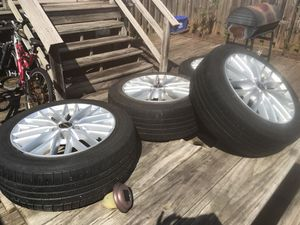 4 tires with rims for Sale in Sterling, VA