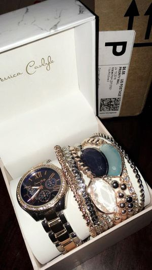 Watch and bracelets for Sale in Frederick, MD