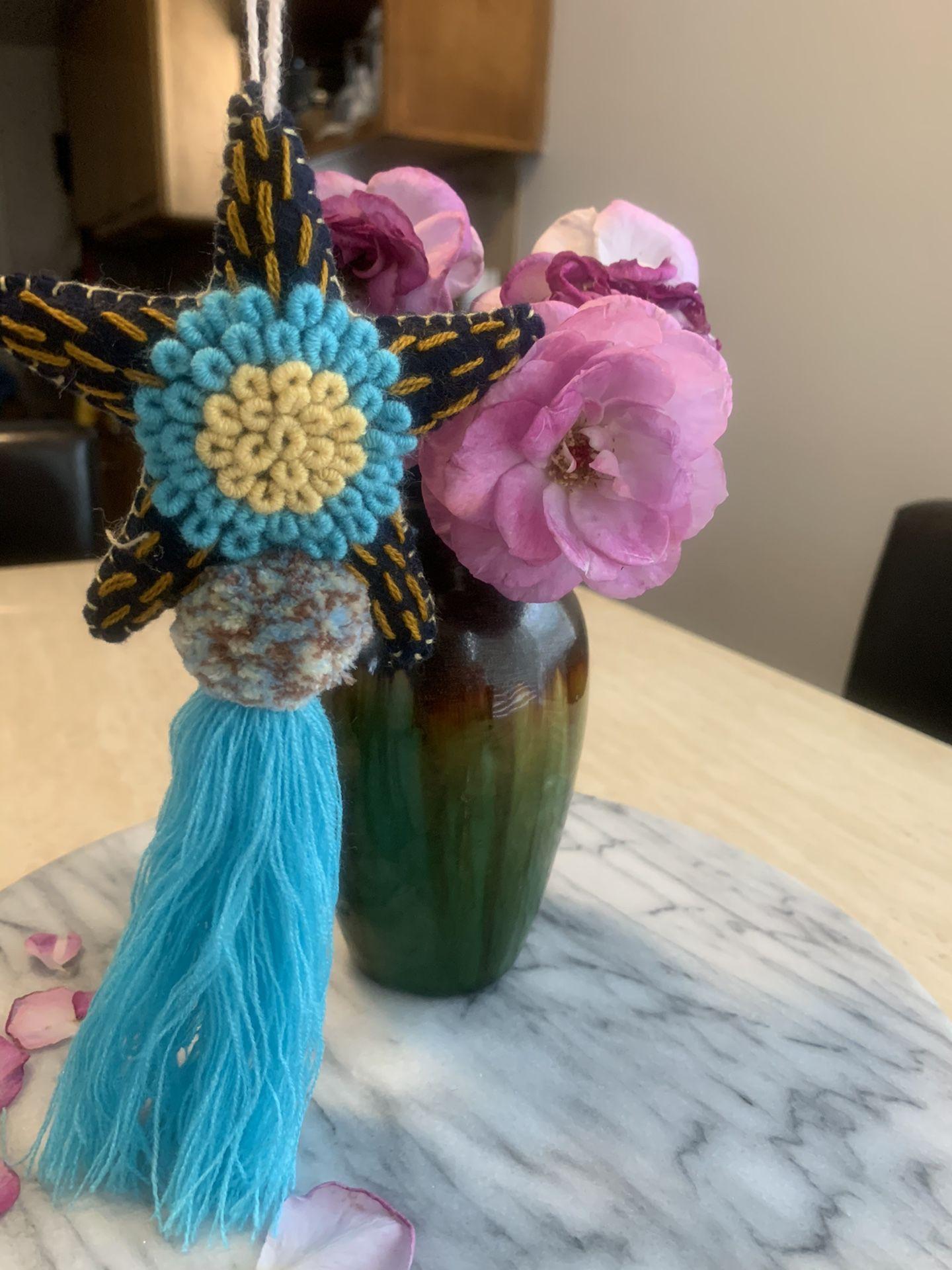 Handmade star with tassel