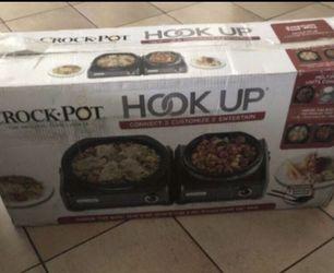 Crockpot hookup with 5qt & 2 qt Thumbnail
