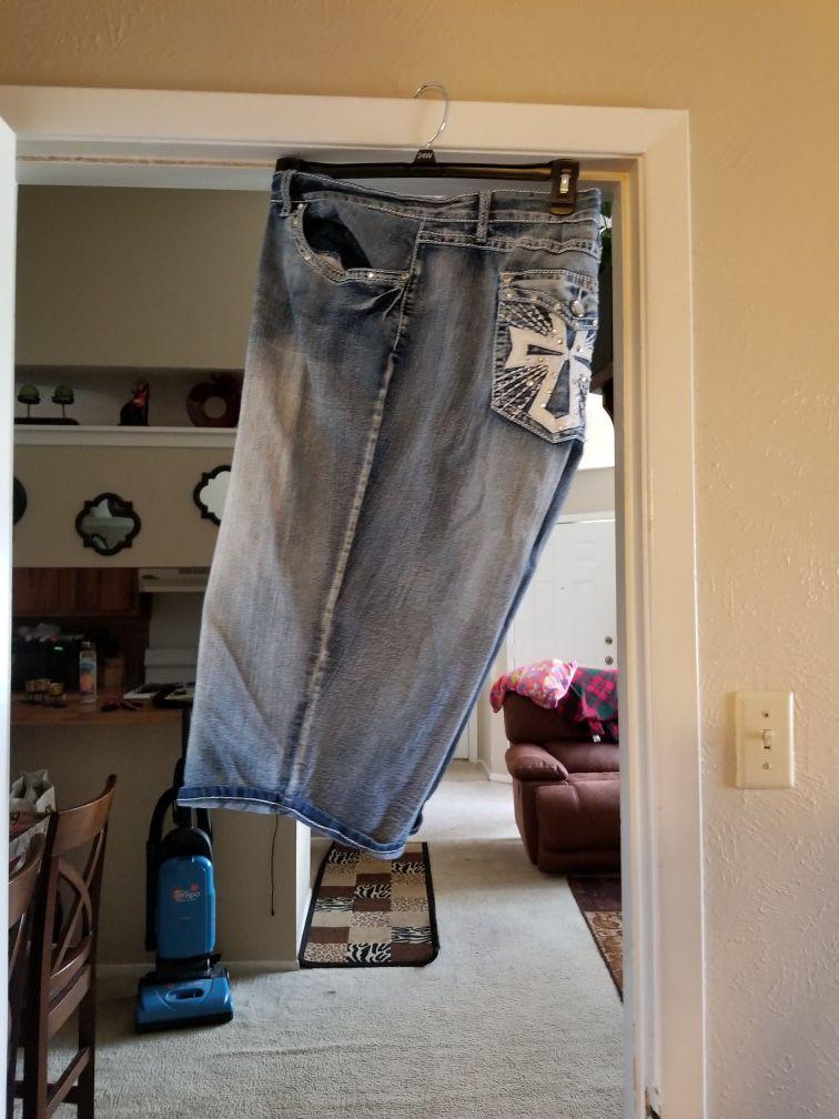 Linen pants, Capri, skinny jean