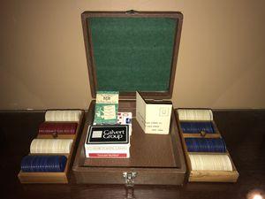 1930s Lowe Antique poker set for Sale in Alexandria, VA