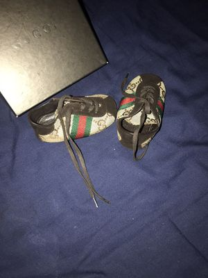 Gucci Baby Crib Shoes for Sale in Washington, DC