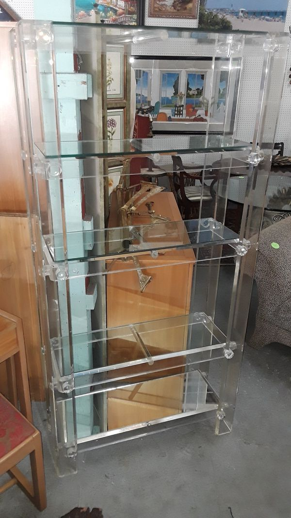 acrylic you lucite it ll bookcase nod the shelf see now of bookcases land