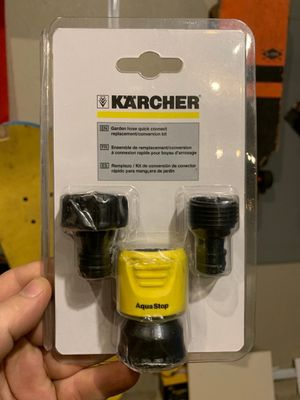 Karcher Replacement Quick Connect Adapter Kit for Electric & Gas Power Pressure Washers for Sale in Clackamas, OR